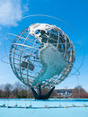 Big globe huge standing in flushing meadows in queens nyc Royalty Free Stock Image