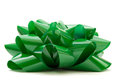 Big green bow Royalty Free Stock Photo