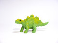 Big green toy stegosaurus Royalty Free Stock Photo