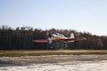 Big gryzlovo aerodrome near pushchino russia Royalty Free Stock Image