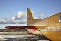 Big gryzlovo aerodrome near pushchino russia Royalty Free Stock Photography