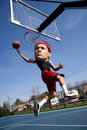 Big Head Basketball Player Royalty Free Stock Photo