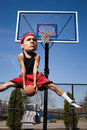 Big Head Basketball Player Stock Photos