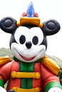 Big inflatable Mickey Mouse Royalty Free Stock Photo