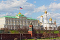 Big Kremlin palace in Moscow