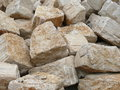 Big limestone rocks Stock Photo