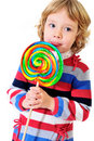 Big lollipop Royalty Free Stock Photo