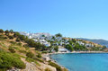 Big luxury hotel resort with sea view in  Bodrum,Turkey Royalty Free Stock Photo