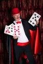 Big magic trick Royalty Free Stock Photo