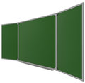 Big magnetic green board Royalty Free Stock Photo