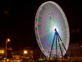 Big multicolored wheel Royalty Free Stock Photo