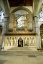 A big organ from Rochester cathedral, Kent, UK. Royalty Free Stock Photography