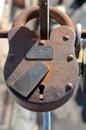Big padlock Royalty Free Stock Photo