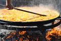 Big Paella Royalty Free Stock Images