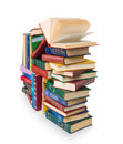 Big pile of books Royalty Free Stock Photo