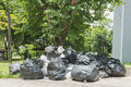 Big pile of garbage and waiste Royalty Free Stock Photo