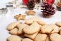 Big pile of Various Christmas Cookies Royalty Free Stock Photo