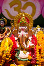 Big pink Ganesha Royalty Free Stock Photography