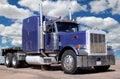 Picture : Big Purple Truck hunter