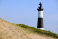 Big Sable Point Lighthouse in dunes, built in 1867 Royalty Free Stock Photo