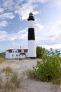 Big Sable Pt. Lighthoue Stock Photos