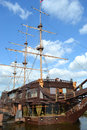 Big sailing ship in st petersburg view of russia Stock Photo