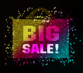 Big sale Stock Image
