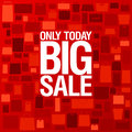 Big sale background. Royalty Free Stock Photography