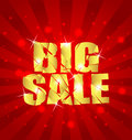 BIG SALE background sample Royalty Free Stock Photography