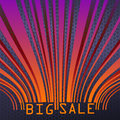 Big sale bar codes all data is fictional eps vector file included Stock Photography