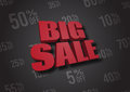 Big Sale 3D illustration