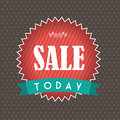 Big sale design over dotted background vector illustration Stock Images