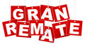 Big Sale / Gran Remate Sign Stock Image