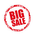 Big sale stamp Royalty Free Stock Photography