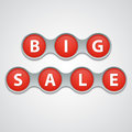 Big sale tag eps this is editable vector illustration Royalty Free Stock Photo