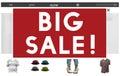 Big Sales Advertising Discount Seasonal Promotion Concept