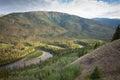 Big Salmon River Yukon Territory Canada Royalty Free Stock Photo