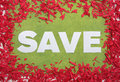 Big save sign Royalty Free Stock Photo