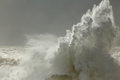 Big sea wave splash Royalty Free Stock Photo