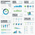 Big set of awesome infographic vector elements for business eps Royalty Free Stock Photography