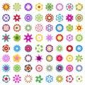Big set of design elements Royalty Free Stock Photography