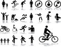 Big set icons - 3. People Stock Photo