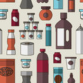 Big set of store products pattern