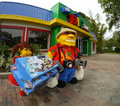 The Big Shop at  Legoland Florida Royalty Free Stock Image