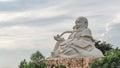 Big sitting Buddha Royalty Free Stock Photo