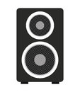 big speaker isolated icon design Royalty Free Stock Photo