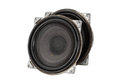 Big speakers (isolated) Royalty Free Stock Photo