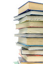 Big stack of books Royalty Free Stock Photos