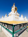 Big stupa in Gandan monastery Royalty Free Stock Photography