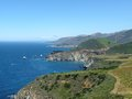 Big sur a breathtaking view of the pacific ocean at california Stock Images
